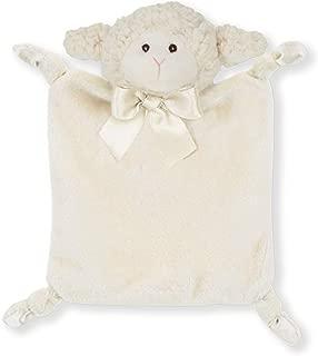 Bearington Baby Wee Lamby, Small Lamb Stuffed Animal Lovey Security Blanket, 8