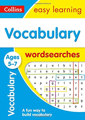 Vocabulary Word Searches Ages 5-...