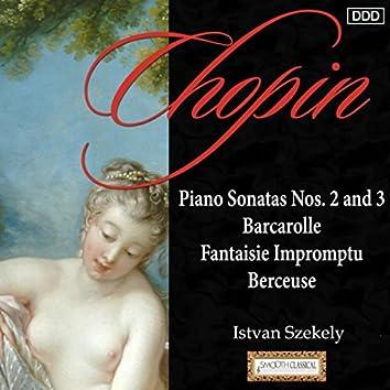 Chopin: Piano Sonatas Nos. 2 and 3 - Barcarolle - Fantaisie Impromptu - Berceuse