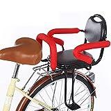 CRMY Fahrradsitz Kindersitz für Fahrrad hinten, mit Handlauf und Pedal - für Kinder von 2-8 Jahren