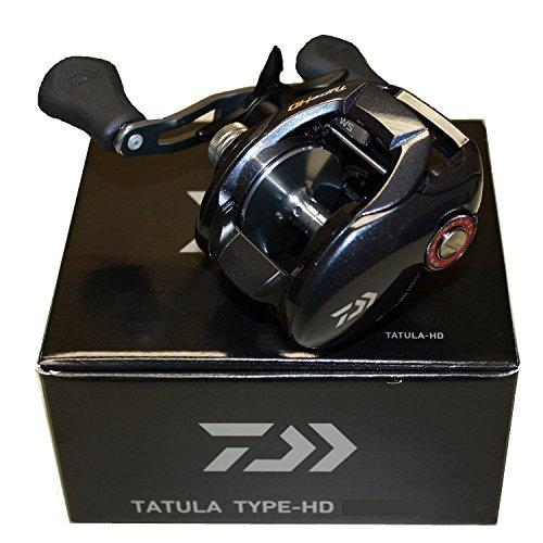 Daiwa Tatula Type HD 7.3:1 Baitcast Rolle, Unisex, TATULA-HD200HSL, Schwarz , 200 HSL