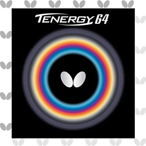 バタフライ(Butterfly) 卓球 ラバー テナジー・64 裏ソフト テンション (スピン) 05820 レッド 特厚