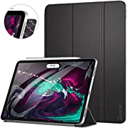 Ztotop Case for iPad Pro 11 Inch 2018,Strong Magnetic Ultra Slim Minimalist Smart Case with Auto Sleep/Wake,Trifold Stand Cover for iPad Pro 11 Inch 2018,Navy Blue