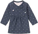 Noppies Baby-Mädchen G Dress ls Nevada-67364 Kleid, Blau (Navy C166), 56
