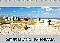 Ostfriesland Panorama (Wandkalender 2022 DIN A3 quer): Berauschende Augenblicke an der Kueste (Monatskalender, 14 Seiten )