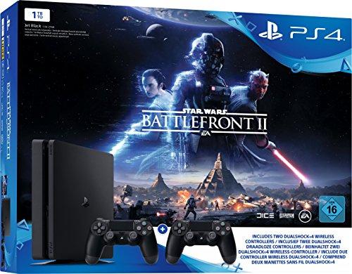 Sony Playstation 4 Slim 1TB incl. Star Wars Battlefront 2