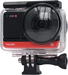 VGSION Waterproof Housing Dive Case Compatible with Insta360 One R 360 VR Edition