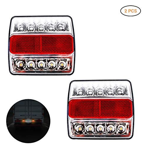 Asdomo Lot de 10 boutons poussoirs en m/étal pour /éclairage de voiture 16 mm 3 V 12 V