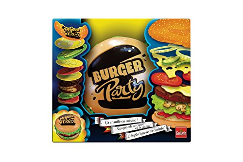 Goliath Toys 30891 Goliath-Burger Party-das schnelle lustige Karten-Partyspiel-ab 6 Jahren, bunt