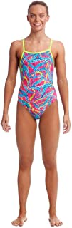 Girls Squeaky Squid Eco Tie Me Tight One Piece