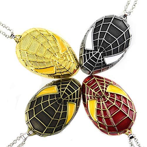morningsilkwig Super héros Spiderman Pendentif Collier...
