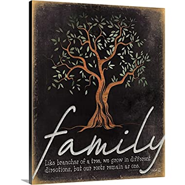 Marla Rae Premium Thick-Wrap Canvas Wall Art Print entitled Family - Like Branches of a Tree 11 x14