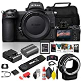 Nikon Z 6II Mirrorless Digital Camera 24.5MP (Body Only) (1659) + FTZ Mount + 64GB XQD Card + Corel Photo Software + Case + HDMI Cable + Cleaning Set + More - International Model (Renewed)