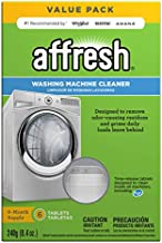 Affresh Washing Machine Cleaner, Cleans Front Load and Top Load Washers, Including HE, 6 Tablets