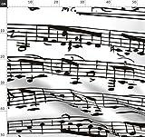Noten, Musiker, Klavier, Musik, Musical Stoffe -