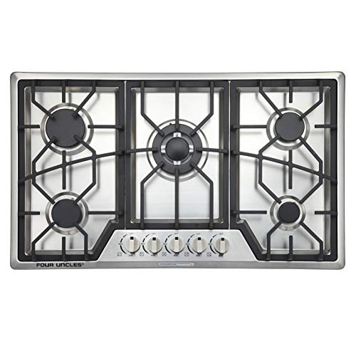 "34"" Gas Cooktop 5..."