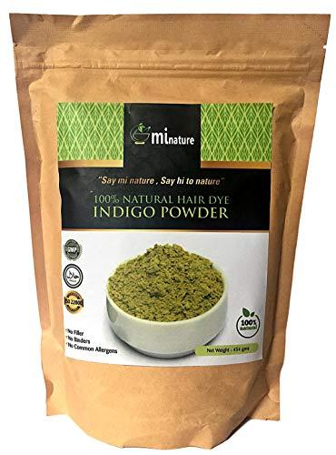 Indigo-Puder XXL 454 g 100% natürliches Haarffärbemittel, keine Zusatzstoffe
