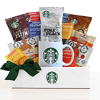 California Delicious Starbucks Daybreak Gourmet Coffee Basket