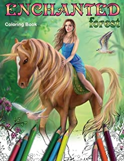 Enchanted Forest. Coloring book: Coloring Book for Adults