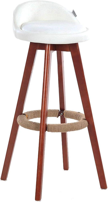 Mei Xu Barstools Bar Chair,redary Stool European Style Bar Stool Home Backrest Bar Stool Simple Leisure Chair Lift Nail Stool 60 (42-58) cm Home Bar Furniture (color   H)
