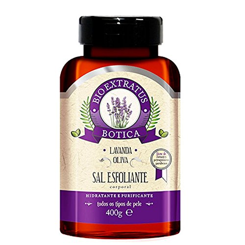 Sal Esfoliante Corporal Botica Lavanda Bio Extratus 400g
