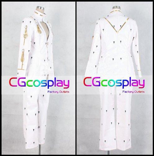 『★CGcosplay★ 【男性Mサイズ】 ジョジョの奇妙な冒険 ブローノ・ブチャラティ コスプレ衣装 C9504』の1枚目の画像