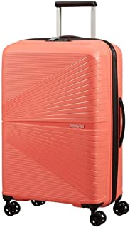 American Tourister Airconic Hardside Spinner Suitcase, 67 Centimeter, Living Coral