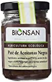 Bionsan paté de aceitunas negras - 4 tarros de cristal de 140 gr - Total: 560 gr (43101)
