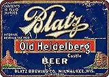 Generic Brands Blatz Old Heidelberg Bier Blechschild