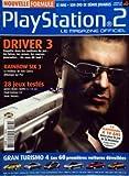 PLAYSTATION 2 MAGAZINE [No 83] du 28/02/2004 - driver 3 - enquete dans...