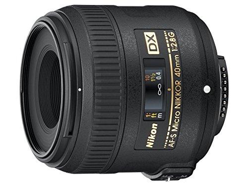 Nikon AF-S DX Micro NIKKOR 40mm f 2.8G Obiettivo, Nero [Nital Card: 4 Anni di Garanzia]
