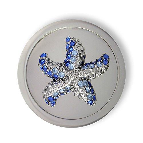 Mi Moneda - Moneda Mi Moneda Estrella Swarovski acero medida mediana