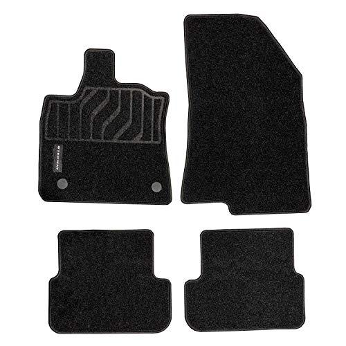 8201737156 – Lot de 4 tapis en moquette pour Dacia Sandero Logo Steepway (à partir de 03/2021)