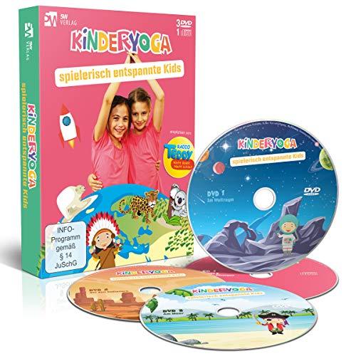 Kinderyoga - spielerisch entspannte Kids +++ empfohlen von Radio TEDDY +++ Das perfekte Geschenk