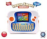 "Learn Smart Handheld Language Learning Machine Early Education Device PDA Style Learning Resource 104 Learning Activities&Game English/Spanish Bilingual Support TV-out function 2.7""inch TFT Screen"