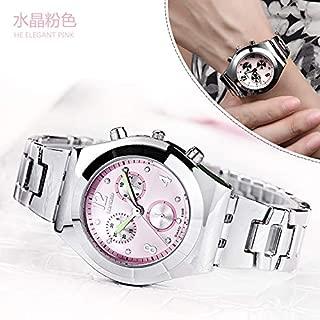 Xiangjin Wrist Watches,LONGBO8399 Fashion Women Round Dial Wrist Watch with Steel Band
