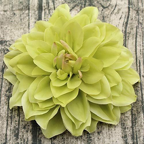 Natürliche getrocknete Blumen, große künstliche Dahlie, Pfingstrosen, filigrane Blume, Hochzeitsblumen, Wanddekoration, Heimdekoration (Farbe: A5)