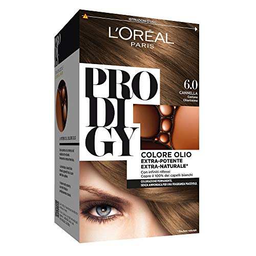 L 'Oréal Paris, Prodigy -Coloración permanente 6 Cannella Castano Chiarissimo