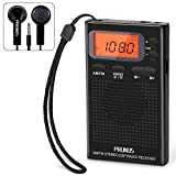 Best Pocket Radios - PRUNUS J-125 Portable AM FM Pocket Radio Review