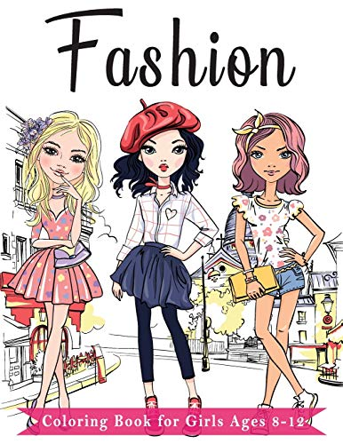 Fashion Coloring Book For Girls ...