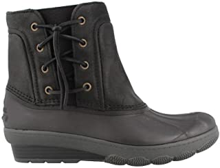 0dd9f9ff4da Sperry Top-Sider Women s Saltwater Wedge Tide Quilted Rain Boot