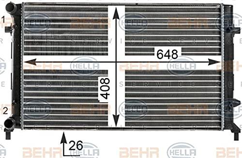 Preisvergleich Produktbild BEHR HELLA SERVICE 8MK 376 700-494 Kühler