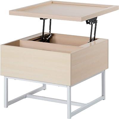 オーエスジェイ 四角昇降テーブル 大 58X58 ナチュラル WF194396BAA