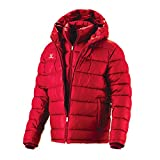 Fuerza Mens Winter Down Wellon Special Collection Hooded Double Layer Parka Jacket