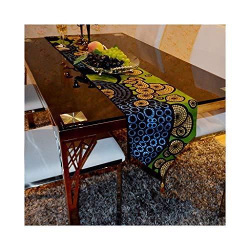 Moderne minimalistische tafelvlag, lange tafelvlag van spitse weefsel-televisiekasten, salontafelvlag, schoenendeksel. 30 * 220cm C