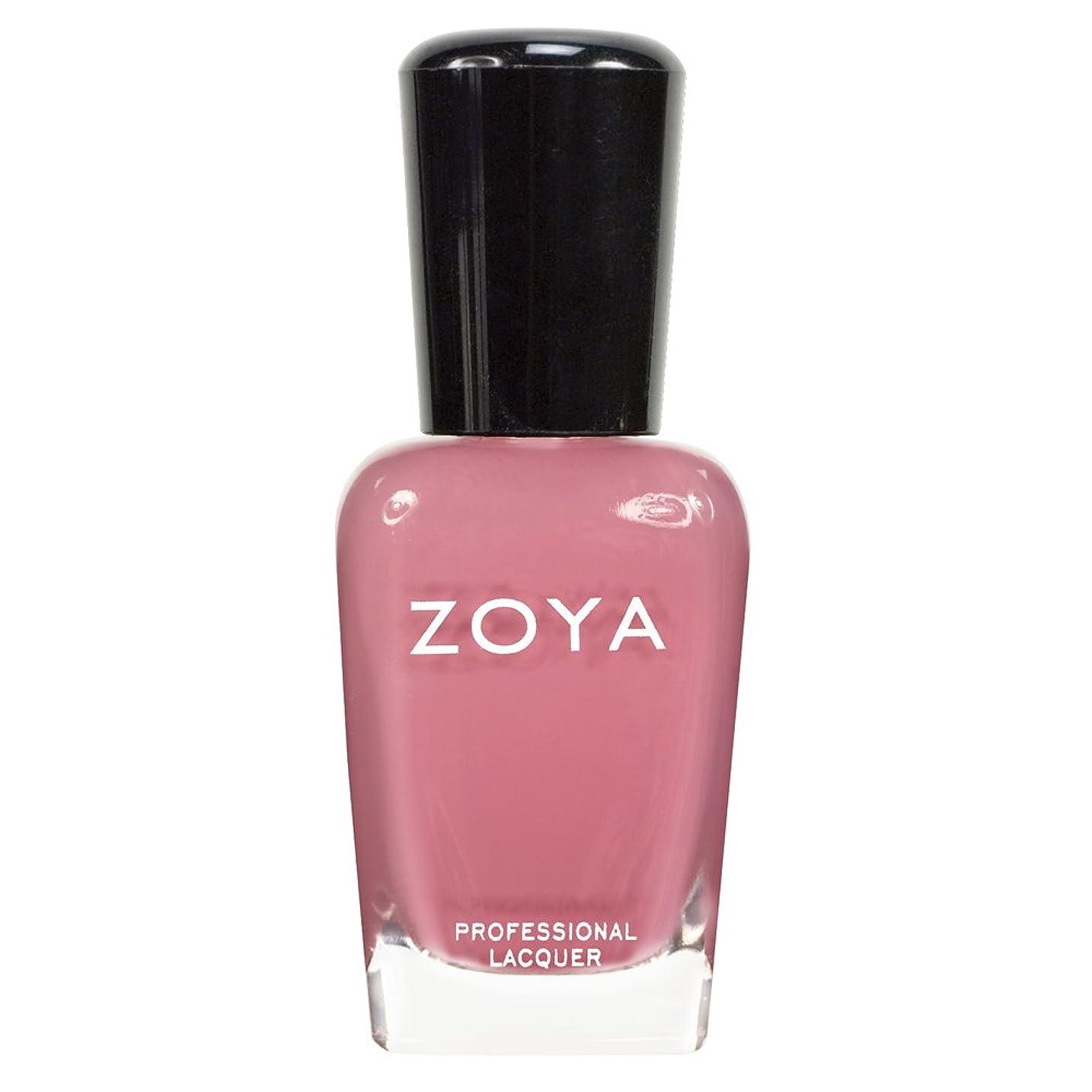 表現手当閃光ZOYA ゾーヤ ネイルカラーZP436 ZANNA ザンナ  15ml 淡いモーブピンク マット 爪にやさしいネイルラッカーマニキュア