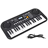 m zimoon Kids Piano, Keyboard for Kids Electronic Keyboard with Interactive LCD Screen, Dual-Speakers, 10...