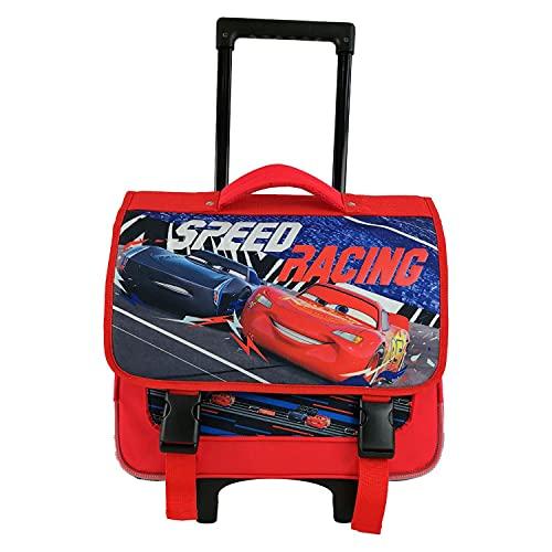Bagtrotter - Mochila con ruedas, 38 cm, diseño de Cars Disney