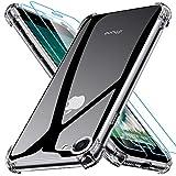 Kompatibel mit iPhone SE 2020 Hülle mit 2 Stück