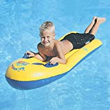 Greenery-GRE Inflatable Pool Float Children's Floats Swim Air Bed PVC Swimming Raft Bodyboard Fun Party Floating Mattress Surf Board with Handles Boys Girls Water Lounger Floats